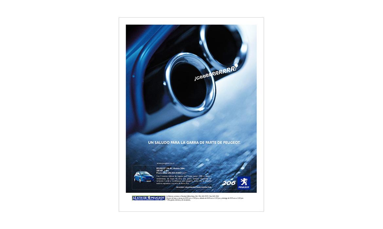 Publicidad Peugeot