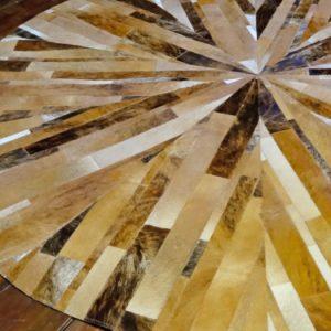 Alfombra Patch Circular Stripes Concéntricos