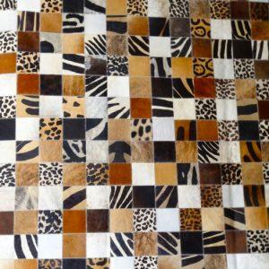 Alfombra Patch Multiprint Exótica 10 x 10 cms.